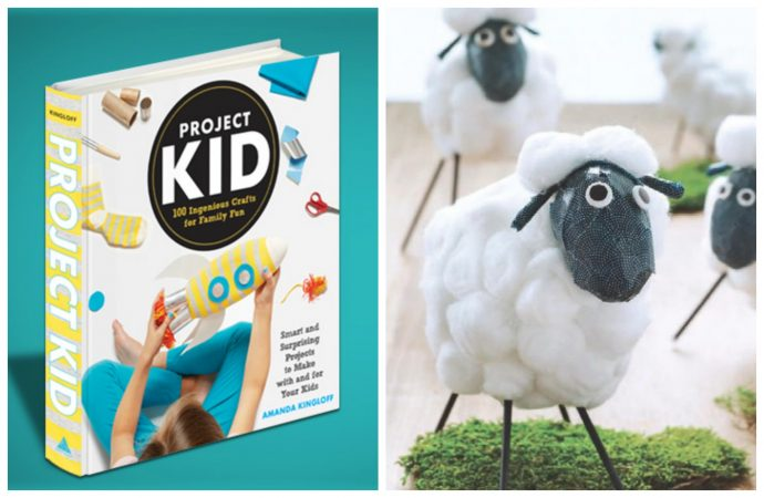 The new Project Kid craft book offers ideas beyond pasta necklaces. Hallelujah.