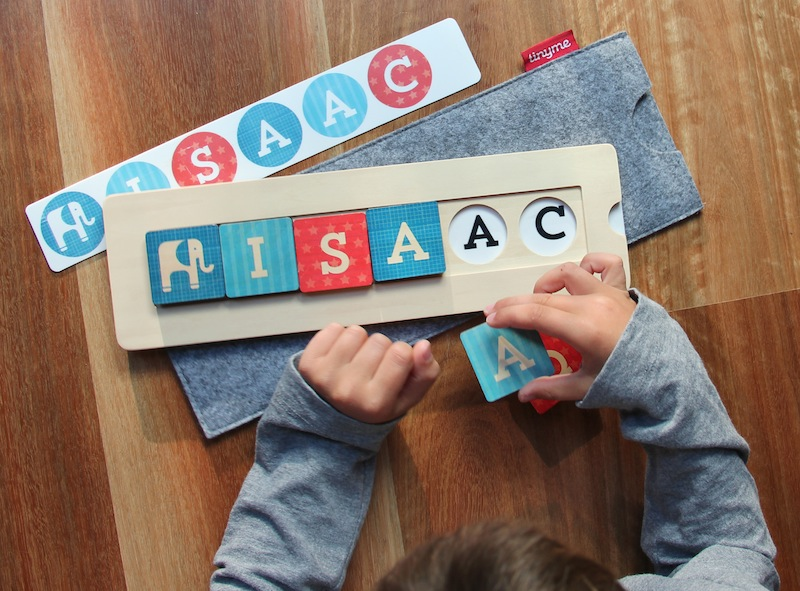 Tiny Me Personalized Name Wooden Blocks