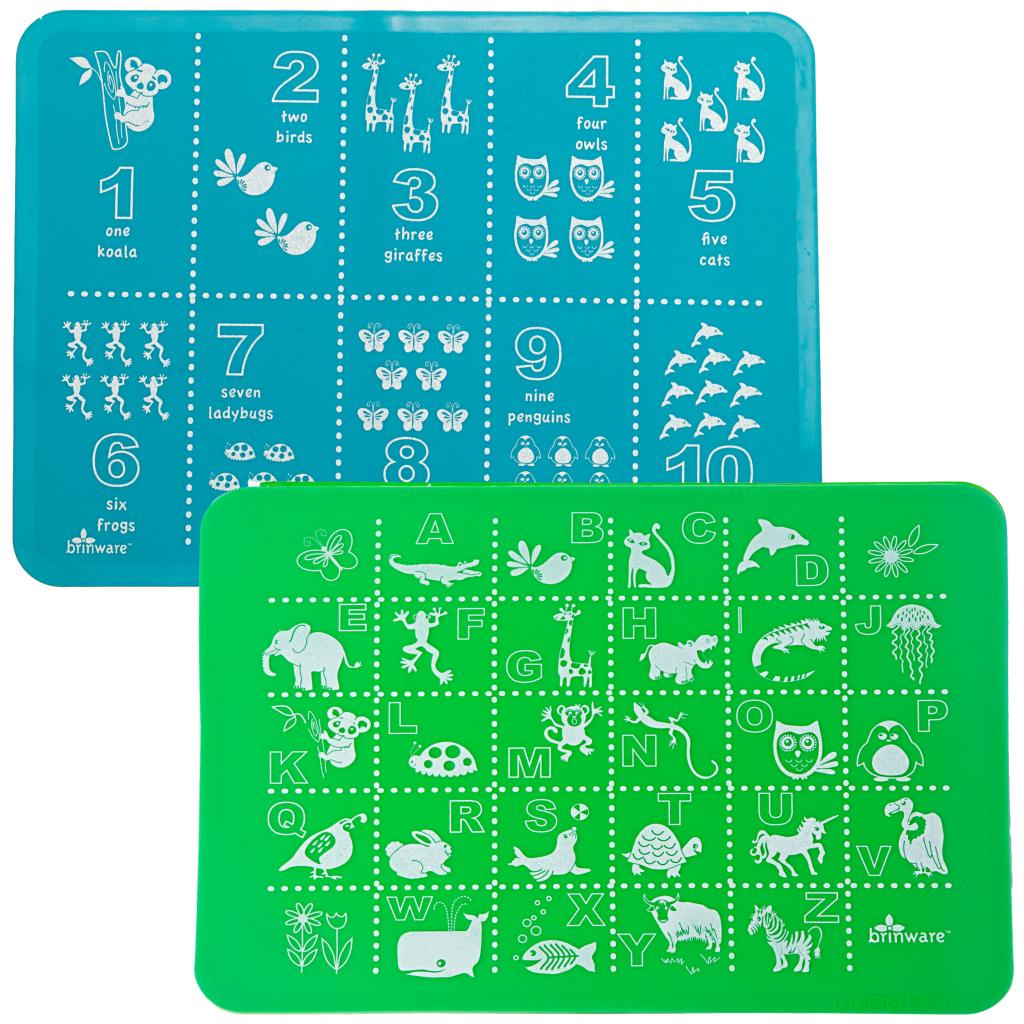 Learning dishes for kids and other educational tableware that sneak some brain food in with the vegetables