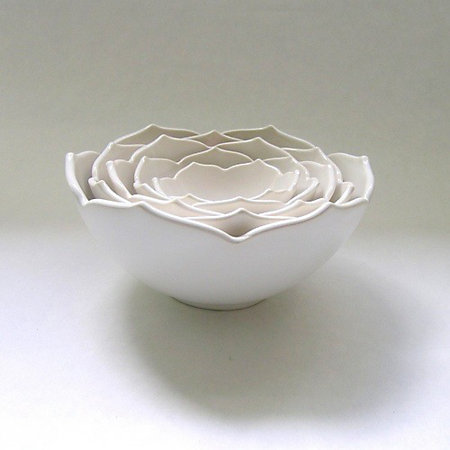 Gifts that give back: Lotus nesting bowls