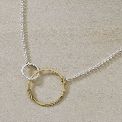 Freshie and Zero mother and child keepsake necklace
