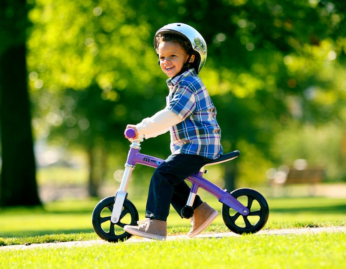 The new G-Bike balance bike: For kids who can't wait for their own wheels