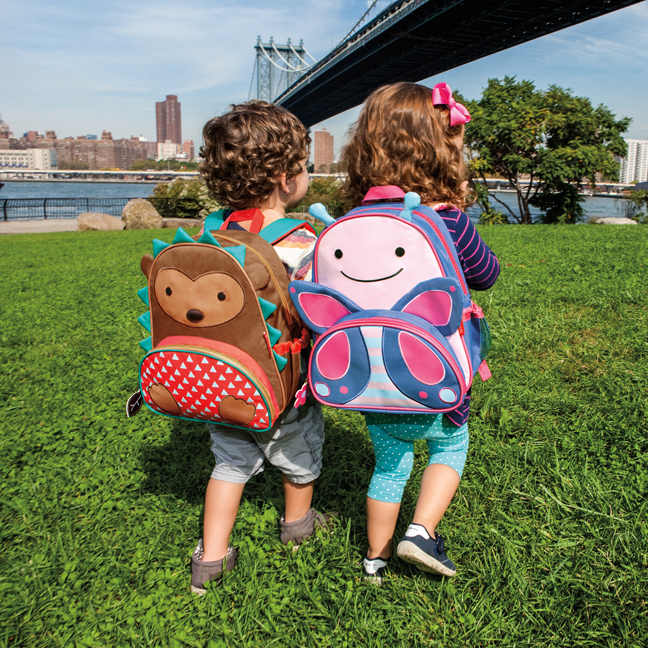 A new hedgehog backpack from Skip Hop. Like that won't be the most popular thing ever.