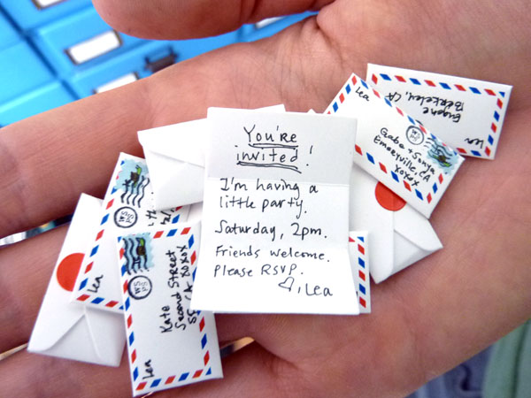The DIY teeny tiny letter writing kit that's filled with great big awesomeness