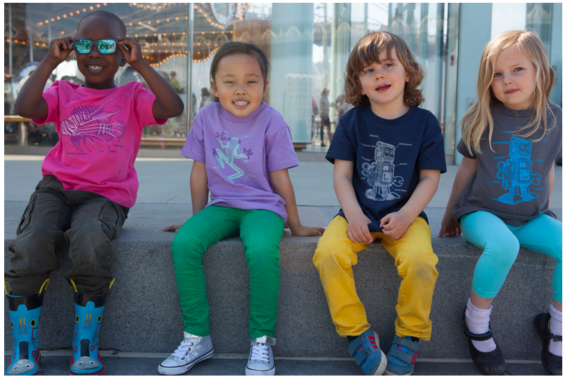Science t-shirts that help kids tell the pedipalp from the chelicarae