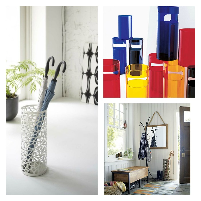 Cool umbrella stands: From modern to traditional, glam to just doing my job, ma'am.