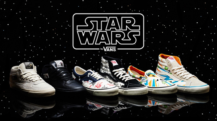 Star Wars Vans: Coming in June, these limited-edition kicks are the Sith.