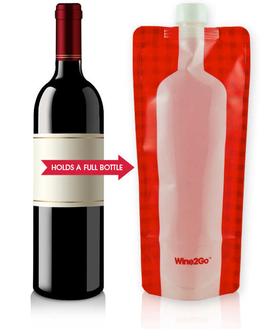 Wine2go portable wine bags: The life of the (pool) party
