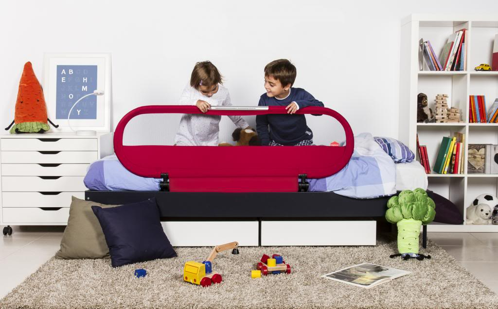 Looking for a great bed rail with night light built right in? We've found a great one.