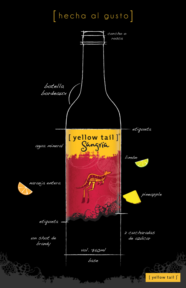 Yellow Tail Sangria: The taste of spain without all that fruit chopping
