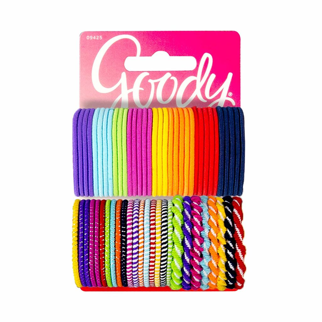 Camp care package gift ideas: A massive pack of ponytail holders to keep hair out of their faces