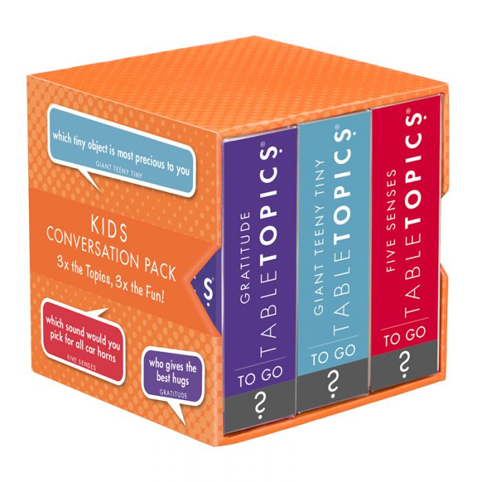 Summer camp care packages: The kids edition of Table Topics is so fun for the whole bunk