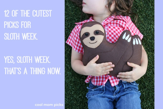 12 favorite sloth picks to kick off Sloth Week. Yes, that's a thing now.