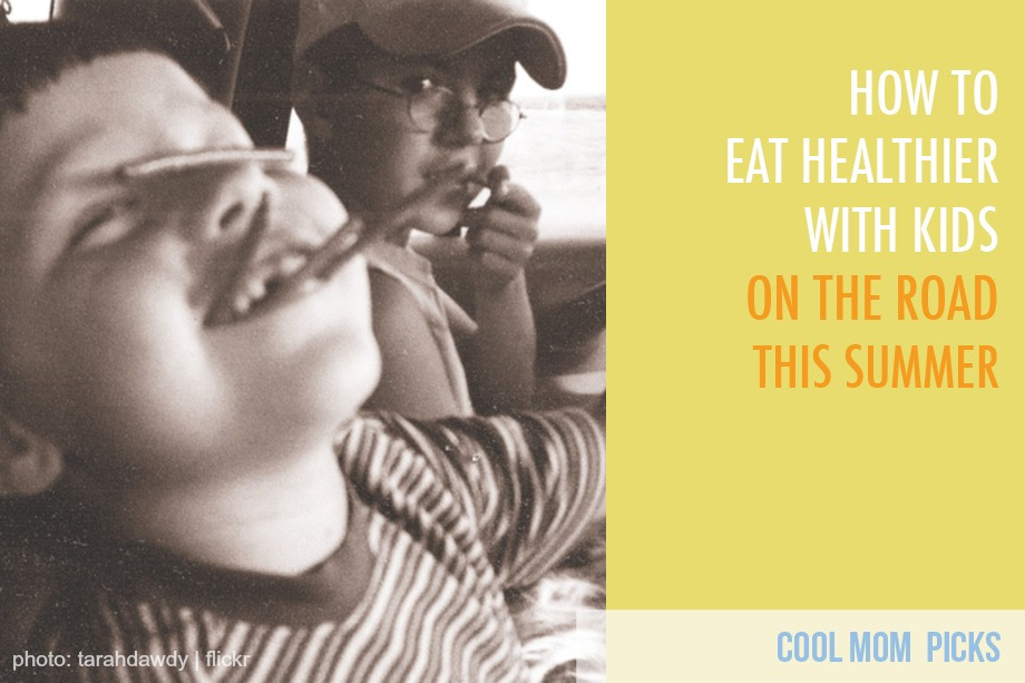 5 great tips for eating healthy on the road with kids