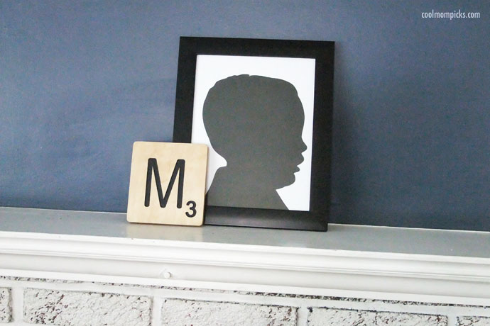 Crafts for Kids-Silhouette Portrait-Cool Mom Picks