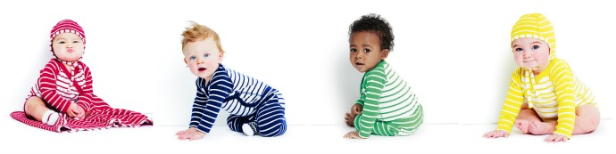 The new Hanna Andersson baby collection is here, renewing our crush on stripes. And Swedes.
