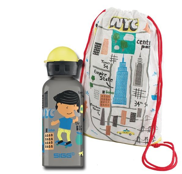 SIGG water bottles for kids get an international makeover