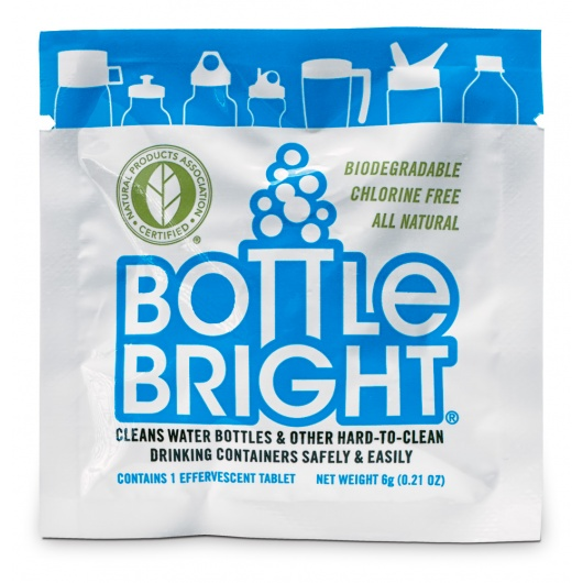 Bottle Bright: the water bottle cleaner that does the work you'd rather not.