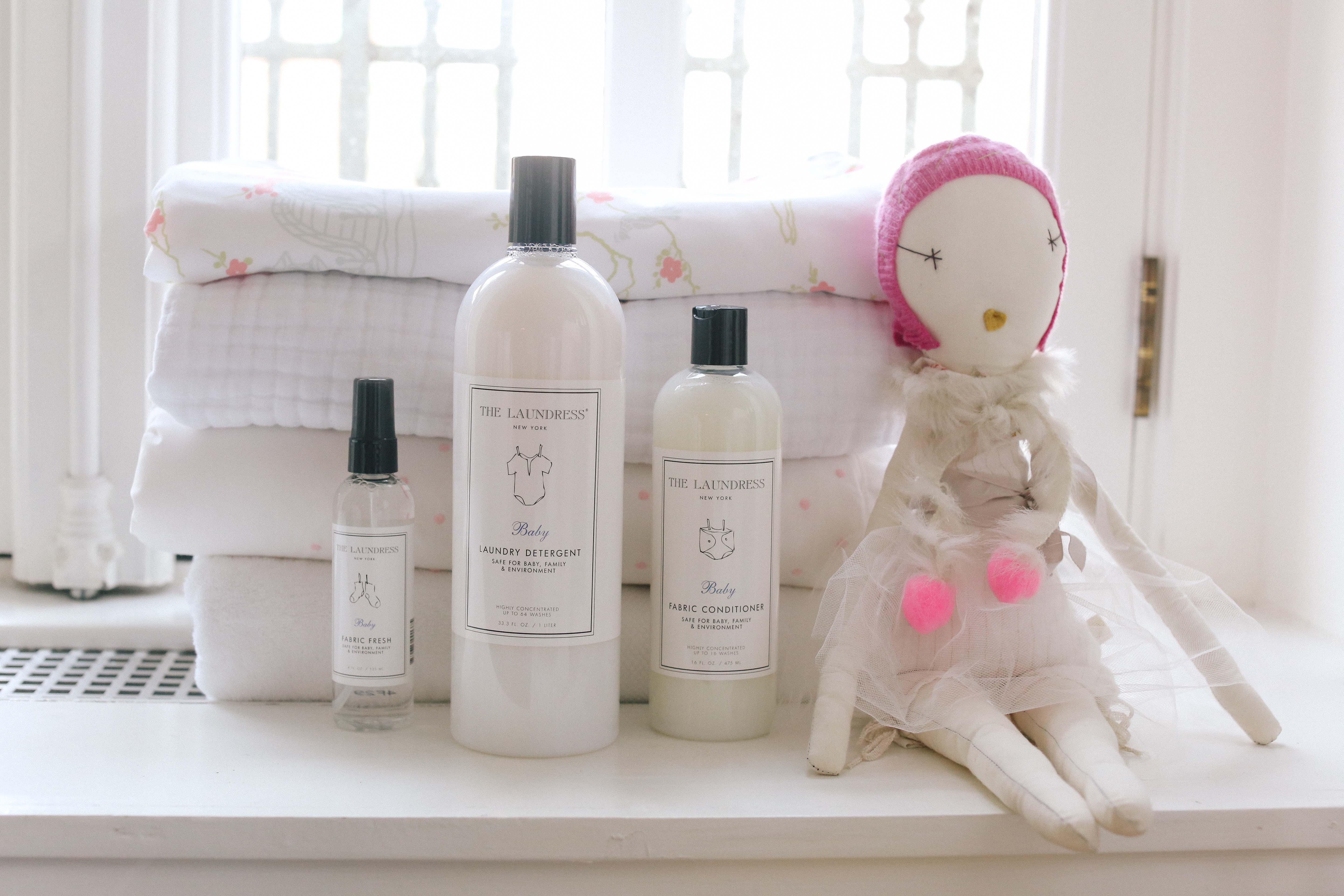 The Baby Collection from The Laundress: Heavenly-Scented Laundry? Yes, Please.