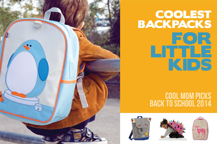 The coolest backpacks and bags for preschoolers and little kids: Back to School Guide 2014