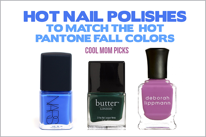 Hot nail polishes to match the hot Pantone fall 2014 colors