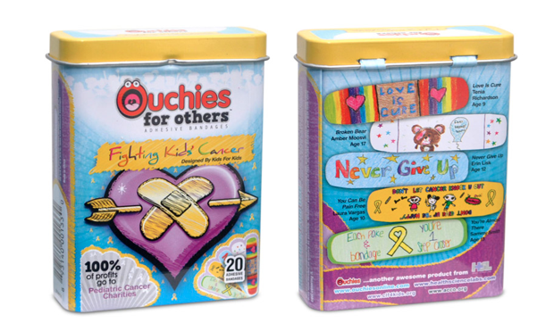 A cool way to fight pediatric cancer, one cool bandage at a time