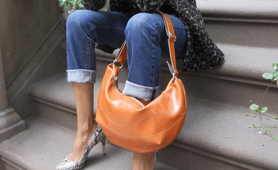 Faux leather handbags as luscious as the real thing