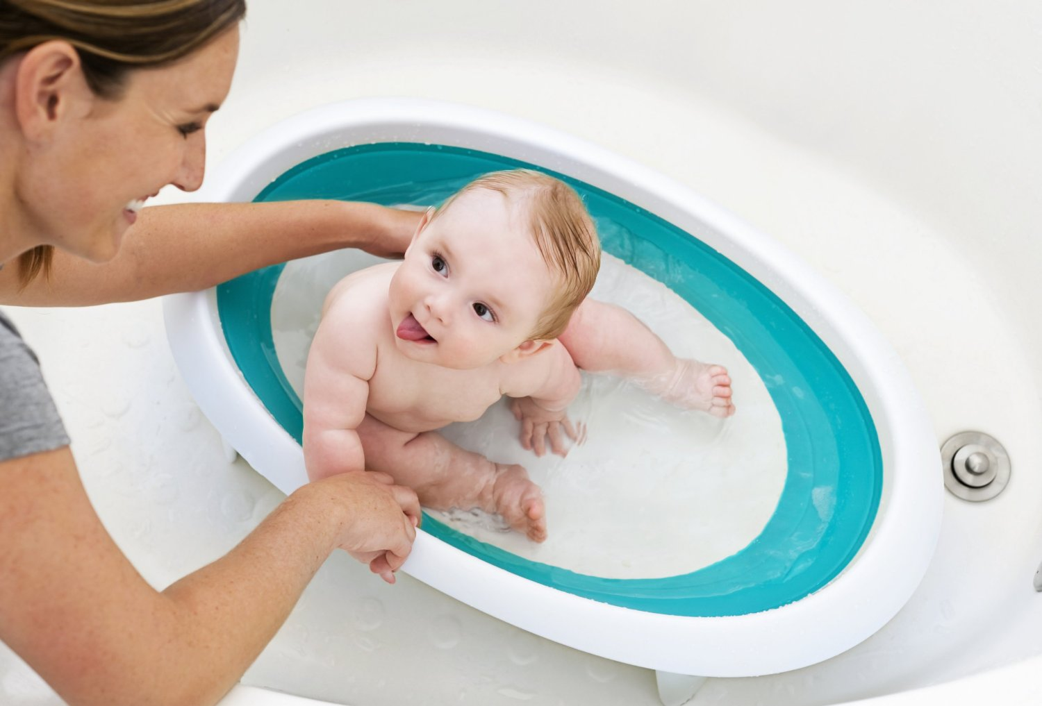 The only baby bathtubs you want to bathe your baby in