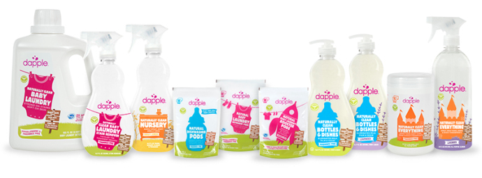 Dapple natural baby cleaning products: No surface left unclean