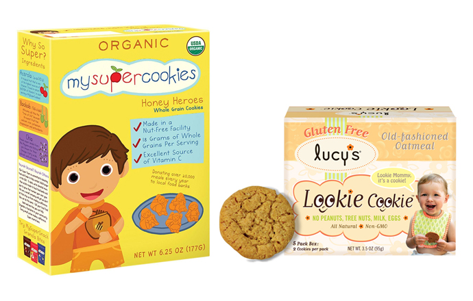 Two new healthy cookies for toddlers that you'll steal bites of, too.