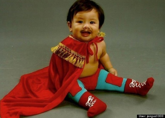 Nacho Libre costume for baby : Huffington Post