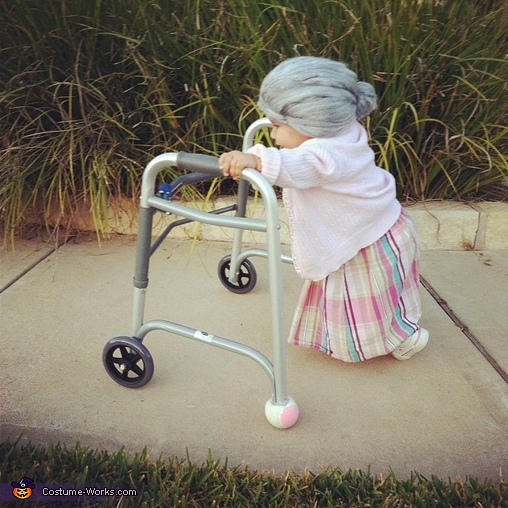 Halloween Costume for Baby: Little Old Lady at Costume Works