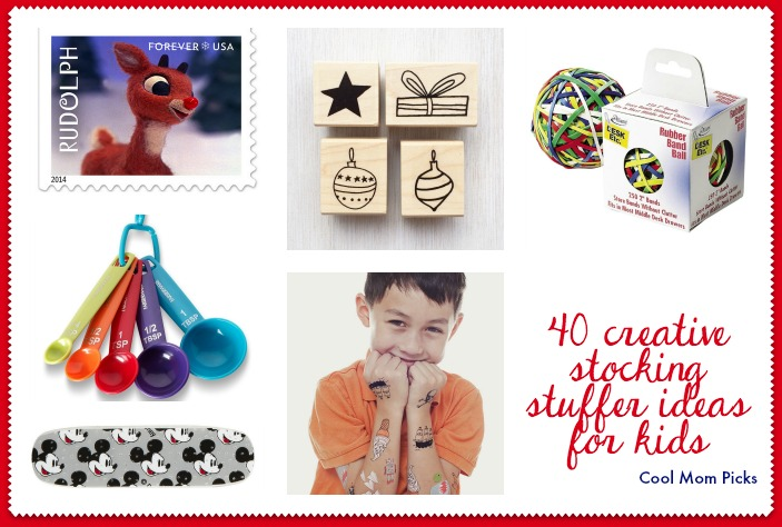 40 creative stocking stuffer ideas for kids: Beyond bubbles and Play-Doh.