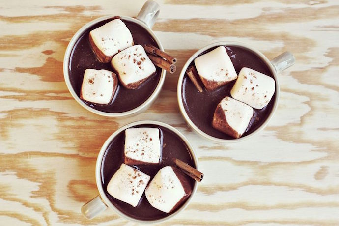 9 of the best creative hot chocolate recipes for snowy days. Because calories don't count over the holidays, right?