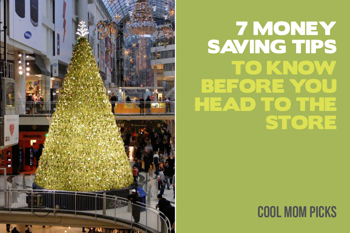 How to save money shopping: 7 great tips for in-store holiday shopping. (Stores…remember those?)