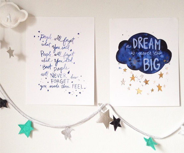 Dream big and help others keep on dreaming too