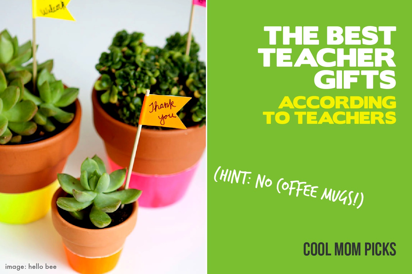 The best teacher gift ideas from people who know: actual teachers.