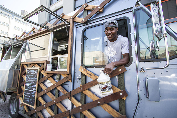 NYC food truck offers locally-sourced food with a side of social justice