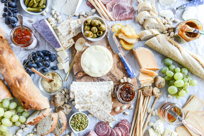How to make a fancy cheese plate with not-so-fancy supermarket ingredients