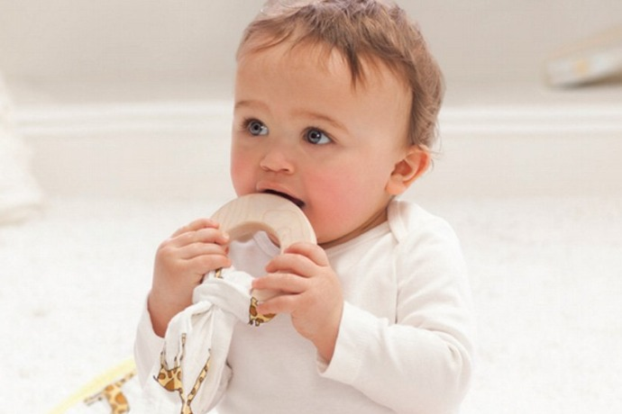 The new Aden and Anais teething toy: Prepare to make room on your registry.