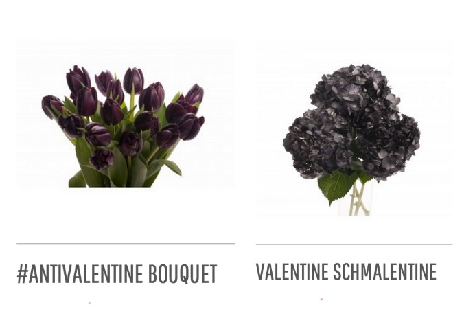 Anti Valentine's Day flowers for all the single ladies. Because we deserve them too!