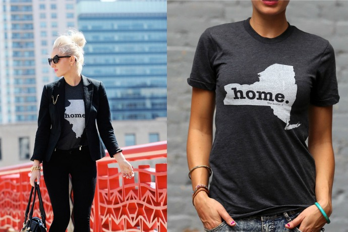 Home T shirts : When you're proud to be…well, from wherever you're from.