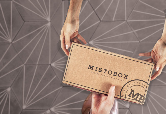 Mistobox: A coffee subscription box for the indecisive, or the very very decisive.