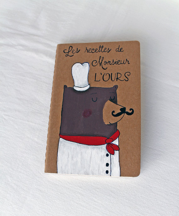 Because you can never have too many Moleskine journals. Especially cute handmade ones.