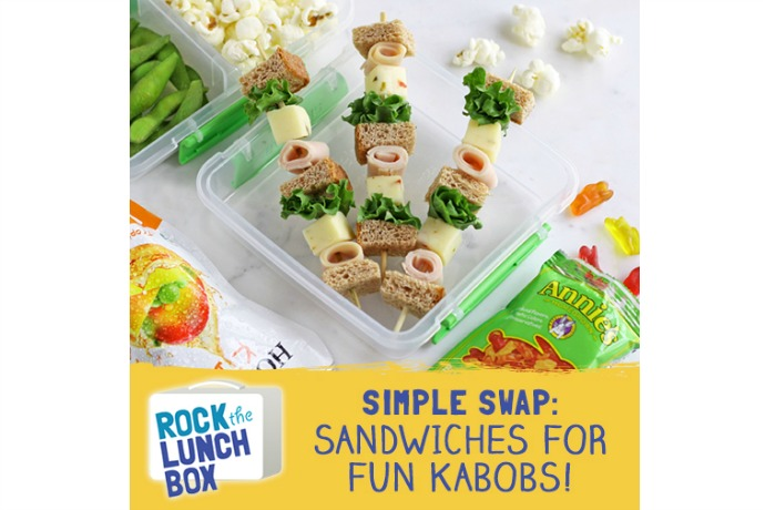 Sponsored Message: Healthy school lunch inspiration that's easy, too.