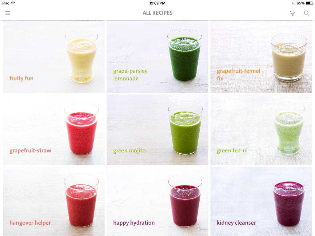 The Blender Girl Smoothies app: Healthy eating inspiration right on your phone.
