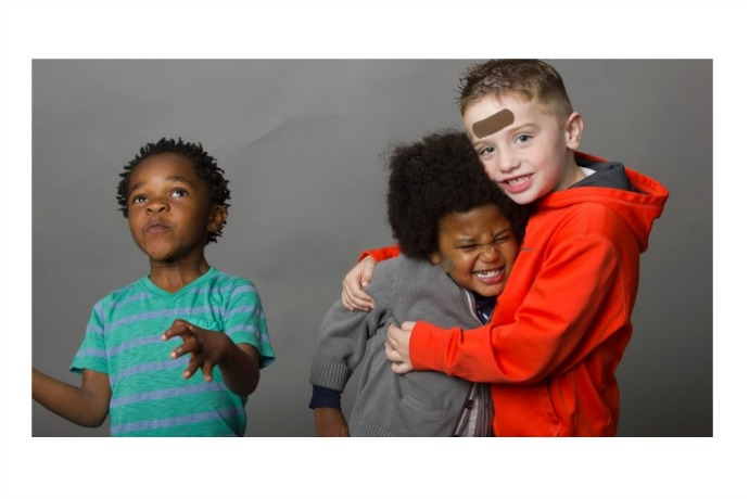 Tru-Colour bandages: Because kids come in different colors