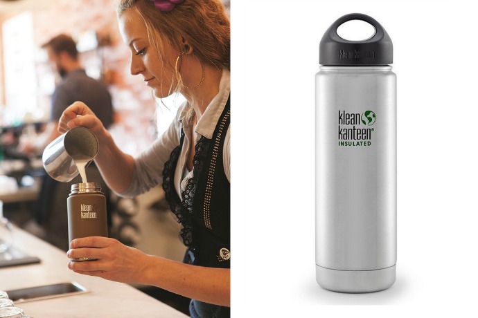 Klean Kanteen, now insulated for keeping that extra-hot macchiato extra-hot on the go