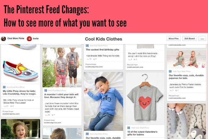 The Pinterest Feed Changes How To See More Of What You Want And Why Ll Never All It