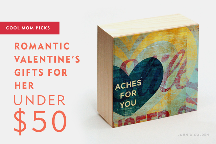 15 romantic Valentine's gifts for her under 50: Valentine's Day Gift Guide